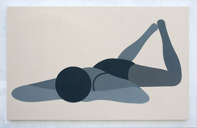 Geoff McFetridge, 'The Beach Seen Through Limo Tint', 2015