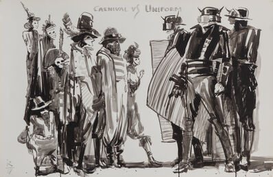 Ivan Razumov, 'Carnival vs. Uniform', 2017