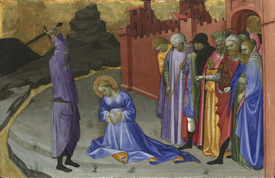 Gherardo di Jacopo Starnina (Master of the Bambino Vispo), 'The Beheading of Saint Margaret (?)', probably about 1409