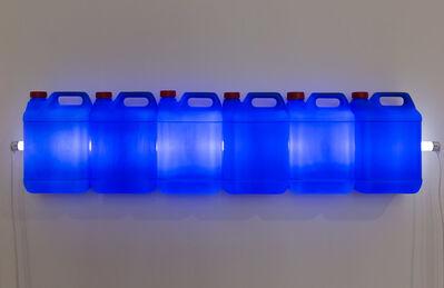 Bill Culbert, 'Strait (Blue)', 2015
