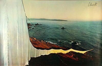 Christo, 'Running Fence (Hand Signed) ', 1976