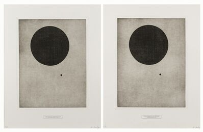 Keith Coventry, 'History Etching (Diptych)', 2008