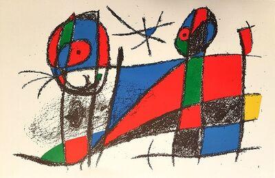 Joan Miró, 'Mirò Lithographe II - Plate VI', 1975