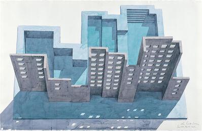 Los Carpinteros, 'Piscina sobre reflejo (aérea)', 2006