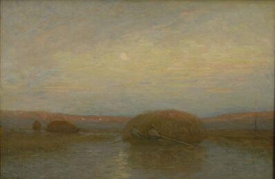 Charles Melville Dewey, 'Return of the Hayboats', ca. 1892