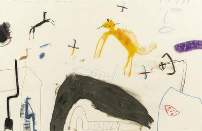 John Hartman, 'The Story of the White Dog Cat', 1986