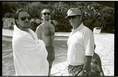 Jean Pigozzi, 'Bono, Edge, and Jack Nicholson', 1994