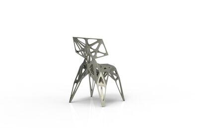 Zhoujie Zhang, 'MC006-F-Matt (Endless Form Chair Series)', 2018