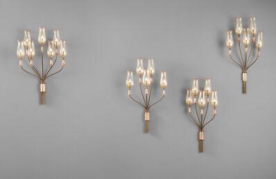 Seguso, 'Four wall lights', circa 1954