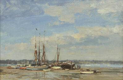 Edward Seago, 'Barges and Dinghies – Pin Mill', 1968