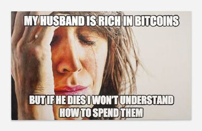 Christine Wang, 'Bitcoin Wife II', 2019