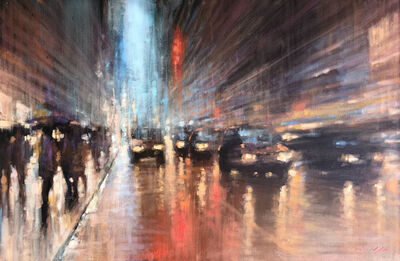 David Hinchliffe, 'City Lights Sydney', 2019