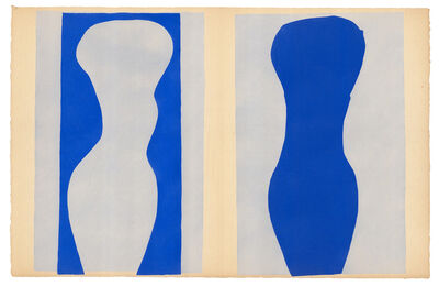 Henri Matisse, 'Formes (from 'Jazz': Plate IX')', 1947