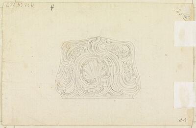 Juste-Aurèle Meissonnier, 'Design for a Snuff Box Cover', ca. 1750