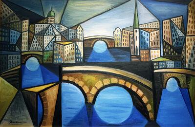 Erik Renssen, 'The Bridges of Amsterdam', 2021