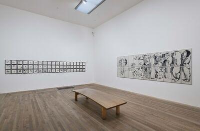 Ibrahim El-Salahi, 'Visual Diary of a Time-Waste Palace', 1996