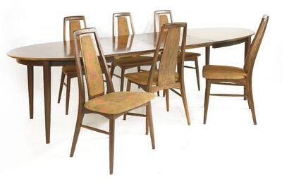 Skovmand & Andersen, 'A Danish rosewood dining table'