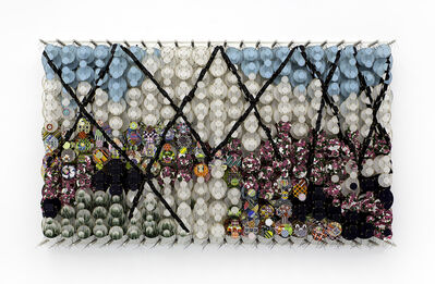 Jacob Hashimoto, 'The Impatient Constellations of the Heart', 2020