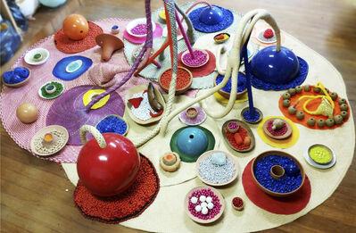 Maria Nepomuceno, 'Oferenda aos deuses das cores', 2015