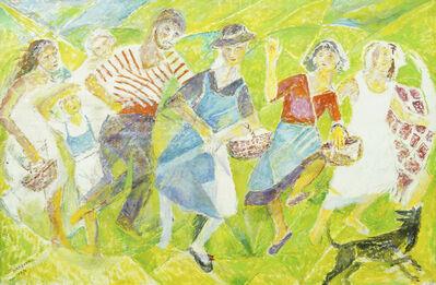 Marie Vorobieff Marevna, 'Harvest Dance', 1970