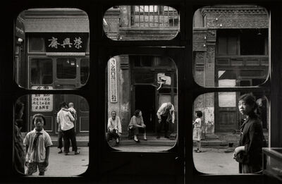 Marc Riboud, 'Windows of an antique dealers shop, Liulichang, Beijing.', 1965