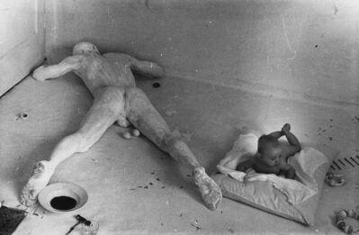 Günter Brus, 'Azione con bambino', 1975