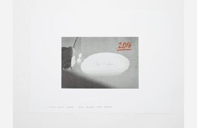 Clive Hodgson, 'mirror / pool', 2016