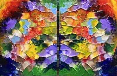 James Leonard, 'Walking In Monet's Garden', 2020