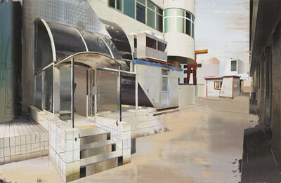 Cui Jie, 'Backdoor to Jiayuan Hotel', 2014