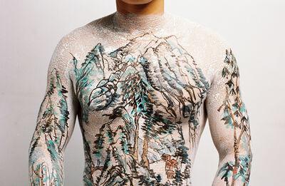 Huang Yan, 'Chinese Shan-Shui Tattoo 3', 1999
