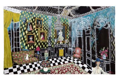 Francisca Ahlers, 'The Black Lounge', 2020