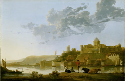 Aelbert Cuyp, 'The Valkhof at Nijmegen', ca. 1652-1654