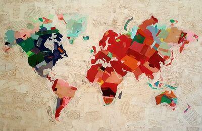 Fernando Alday, 'Spring map', 2021