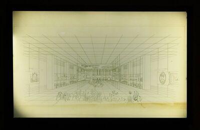 Lina Bo Bardi, 'Perspectiva do Layout da Sala de Exposição', 1947