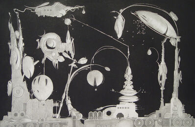 Valton Tyler, 'Front Elevation of Section 17', 1971