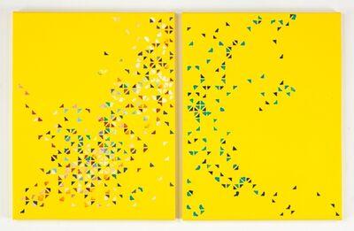 Cecilia Biagini, 'Unconditional   dispersion, diptych', 2012
