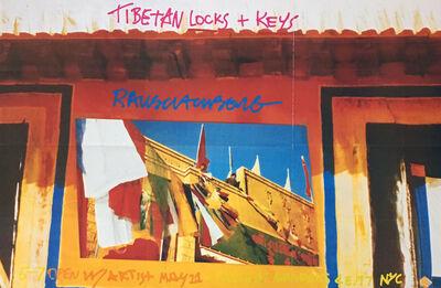 Robert Rauschenberg, 'Tibetan Keys and Locks (Leo Castelli exhibition poster) ', 1986