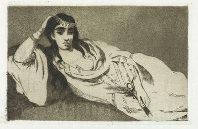 Édouard Manet, 'Odalisque', Circa 1868