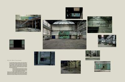 """Igor Grubic, '""""Traces of Disappearing (Deconstruction of the Factory)""""'"""
