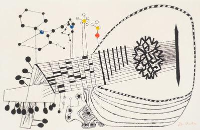 Ben Shahn, 'Lute and Molecule No. 2 (Prescott 30)', 1958
