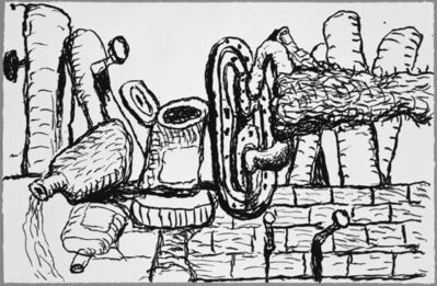 Philip Guston, 'Remains', 1979