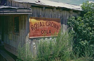 William Christenberry, 'Royal Crown Cola, near Aliceville, Alabama', 1973