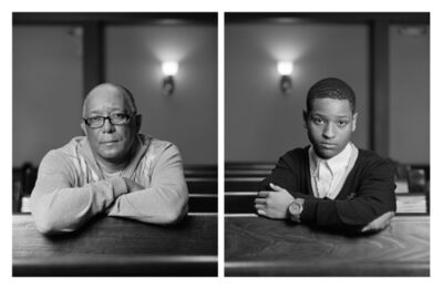 Dawoud Bey, 'The Birmingham Project: Wallace Simmons and Eric Allums', 2012