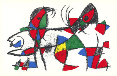 Joan Miró, 'untitled', 1975
