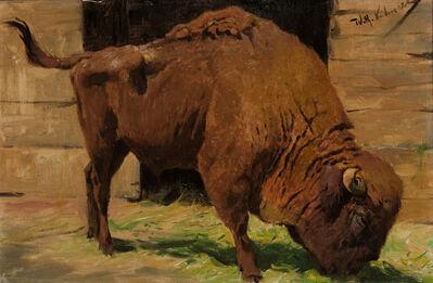 Wilhelm Kuhnert, 'Bison', 19-20th Centuries