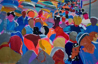 David Kapp, 'Fifth Avenue Crowd', 2020