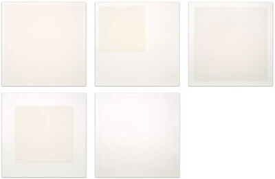 Robert Ryman, 'Four Aquatints and One Etching 1990-1991 ', 1990-1991