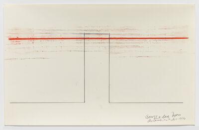 Stephen Antonakos, 'Across a Door Neon', 1970