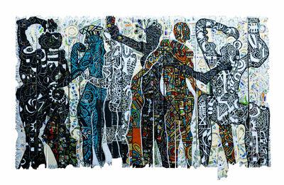 Gerald Chukwuma, 'IKWOKIRIKWO; THE MOONLIGHT DANCE', 2020