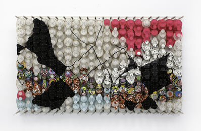 Jacob Hashimoto, 'The Torn Limits of Their Memories', 2020